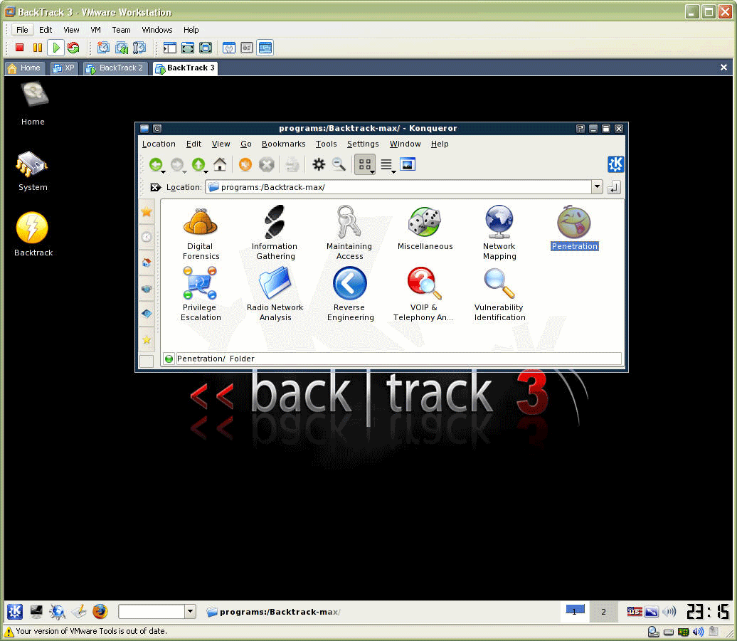 Yes i would totally recommend you guys to use backtrack instead of other distros reason: backtrack is owned by