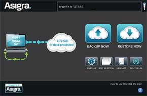 Asigra Cloud Backup v11