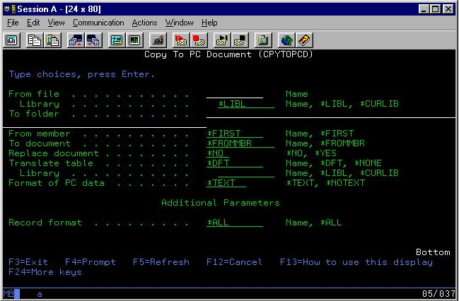 How to save time using the CPYTOPCD and CPYFRMPCD commands