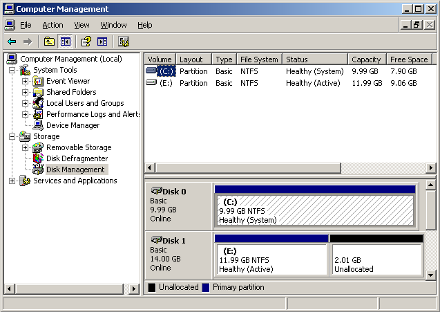 HowTo : Resize a vmware image using VMWare Converter and